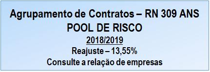 Pool de risco 2018/2019